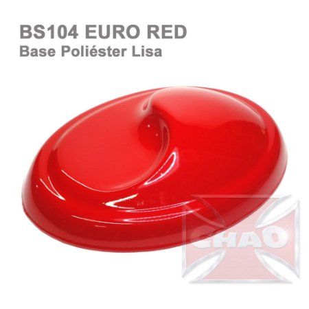 Euro Red poliéster lisa
