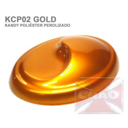 Gold Kandy Perolizado Poliéster