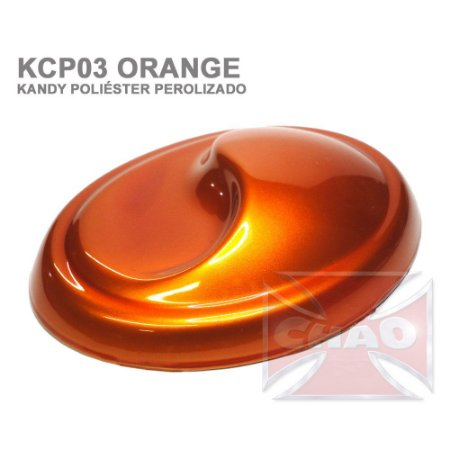 Orange Kandy Perolizado Poliéster