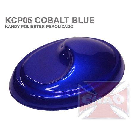 Cobalt Blue Kandy Perolizado Poliéster