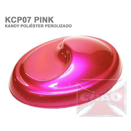 Pink Kandy Perolizado Poliéster