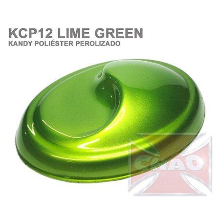 Lime Green Kandy Perolizado Poliéster