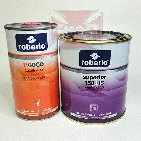 Verniz Alto Sólido 150HS - Kit 1.350ml