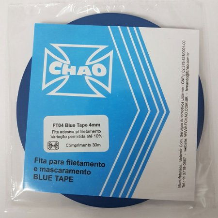 Fita Blue Tape 4mm