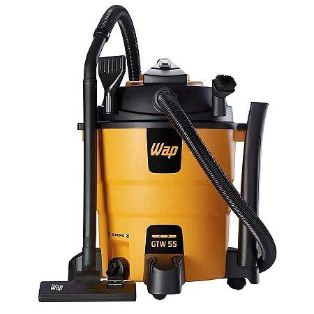 Soprador Aspirador de Pó e Água 3 em 1 1600W 55 Litros - WAP GTW55