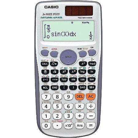 Calculadora Cientifica 417 Funções Casio Fx-991es Plus