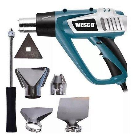 Soprador Térmico com 5 Acessórios - WESCO-WS6427