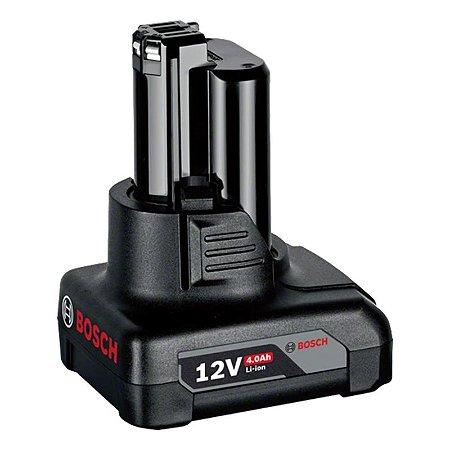 Bateria de Íons de Lítio Compacta Bosch GBA 12V 4,0Ah Super Duração - 1607A350BW000