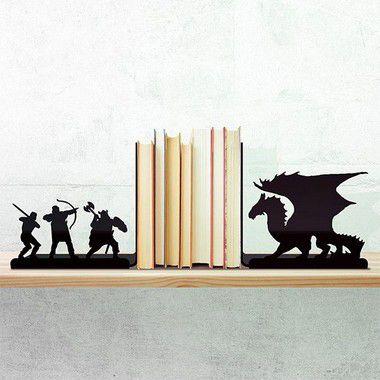 Porta Livro Dragão - Porta Livro Gamer