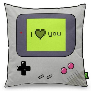 Almofada Gamer Boy - I Love You - Almofada Gamer