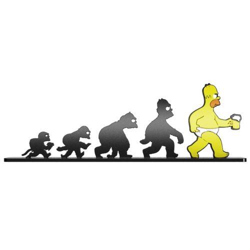 Objeto Decotativo Evolução Homer Simpson