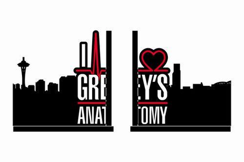 Aparador de Livro e CD - Greys Anatomy