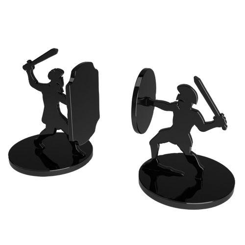 Aparador de Livro Gladiador - 15,5x24cm
