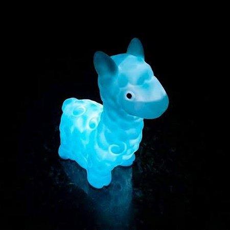 Luminária Sem Fio Lhama - Azul