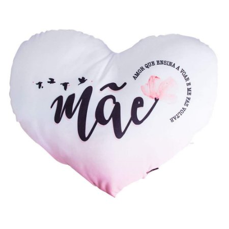 Almofada Shape Bilhetes - Mae, Amor Que Ensina A Voar