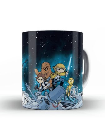 Caneca Star Wars Cartoon