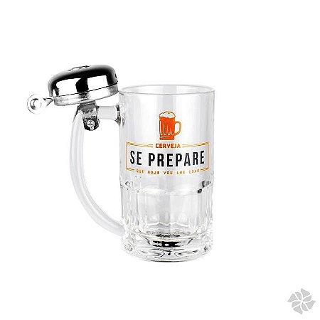Caneca Campainha Cerveja Vou Lhe Usar