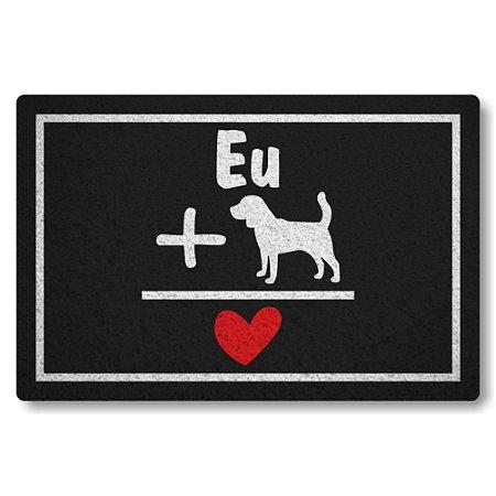 5 Capachos Linha Tapets Eu Mais Dog Igual Amor
