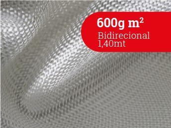 Tecido 600g m2 1,4 mts Bidirecional