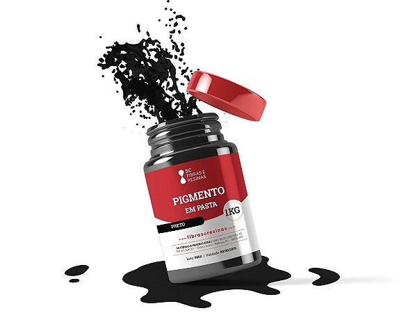 Pigmento em pasta Preto (1kg)