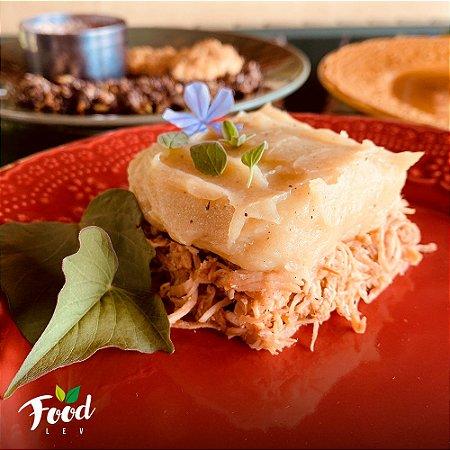 Comida Congelada – Escondidinho de Batata Doce com Frango ao Curry – 350g – FoodLev