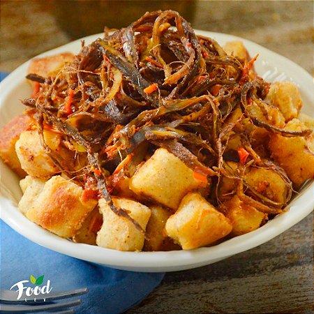 Comida Congelada – Nhoque de Batata Doce com Nasca de Bacana – 350g – FoodLev