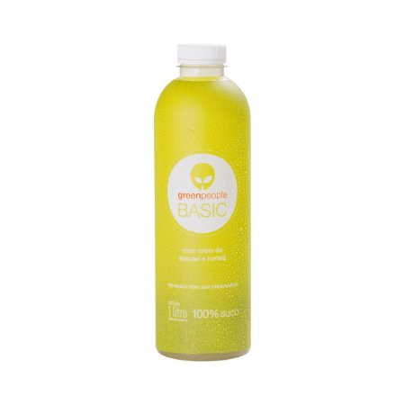 Suco GreenPeople Basic Abacaxi e Hortelã