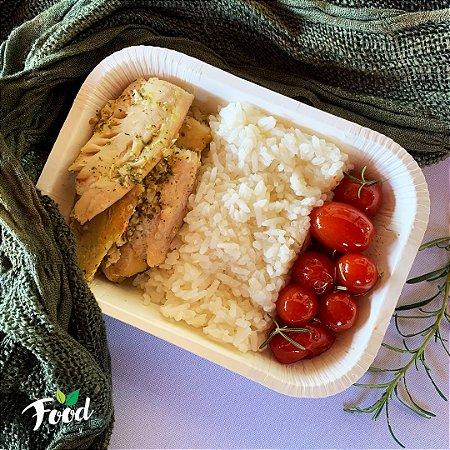 Comida Congelada – Peixe com Arroz Cremoso de Limão – 350g – FoodLev
