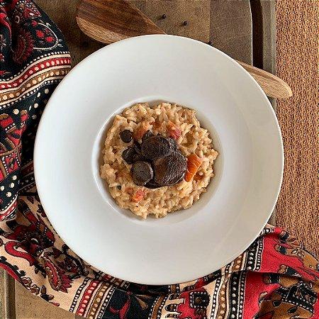 Comida Congelada – Risoto de Tomate com Cogumelo Paris – 250g – FoodLev