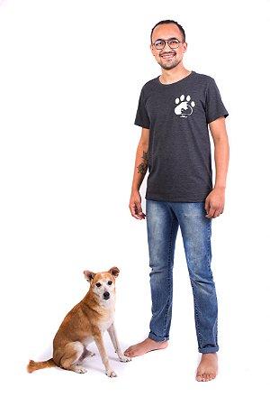 Camiseta Havi Equilíbrio Animal Grafite Masculina