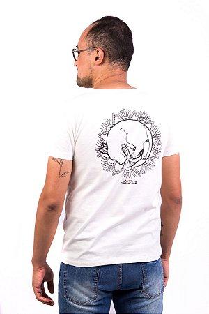 Camiseta Havi Mandala Milka Off White Masculina