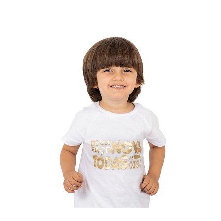 Camiseta Long - EIS QUE FAÇO