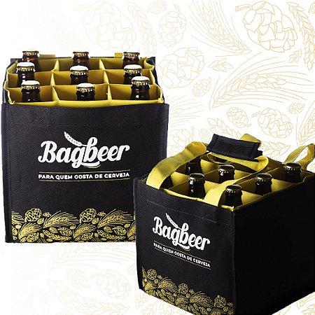 Kit 2 Bagbeers - Bolsa para transporte de Cerveja Artesanal