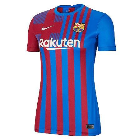 Camisa Nike Barcelona 2021/22 Feminina