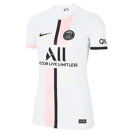 Camisa Nike PSG 2 2021/22 Feminina