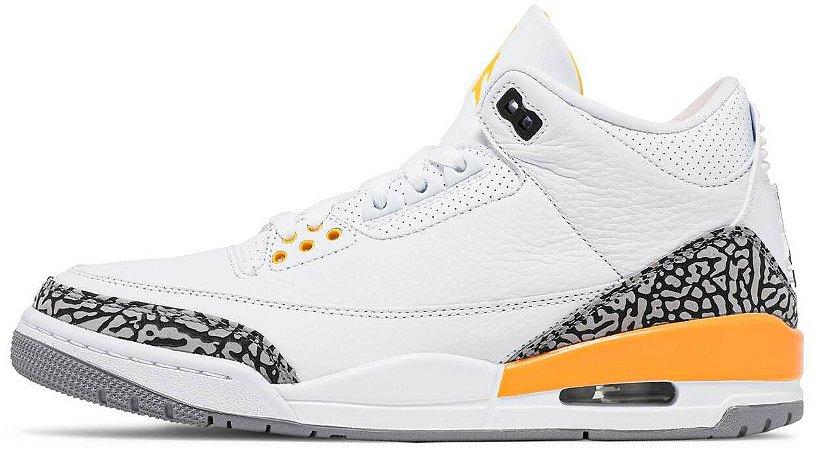 """Air Jordan 3 Retro Wmns """"Laser Orange"""" Feminino"""