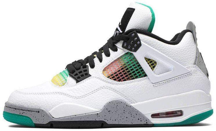 """Air Jordan 4 Retro """"Rasta"""" Feminino"""