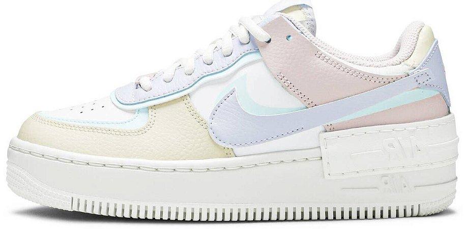 "Nike Air Force 1 Shadow ""Pastel"" Feminino"