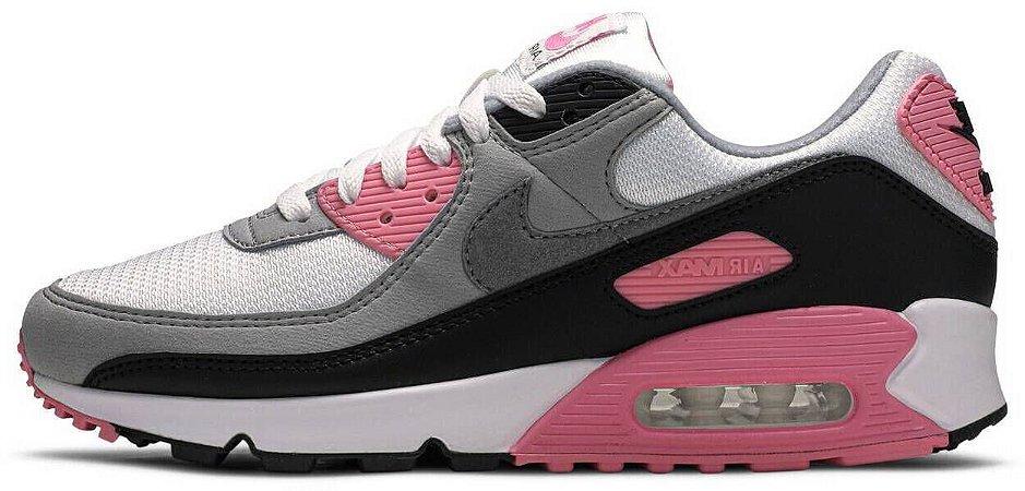 """Nike Air Max 90 """"Rose Pink"""" Feminino"""