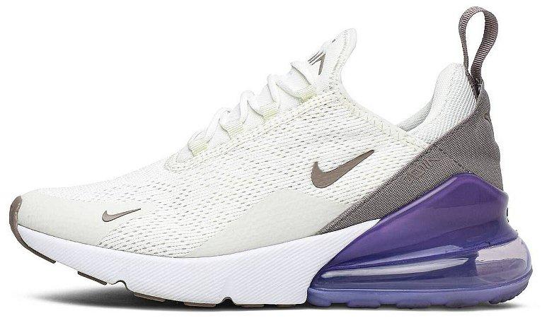 """Nike Air Max 270 """"Sail Lilac"""" Feminino"""