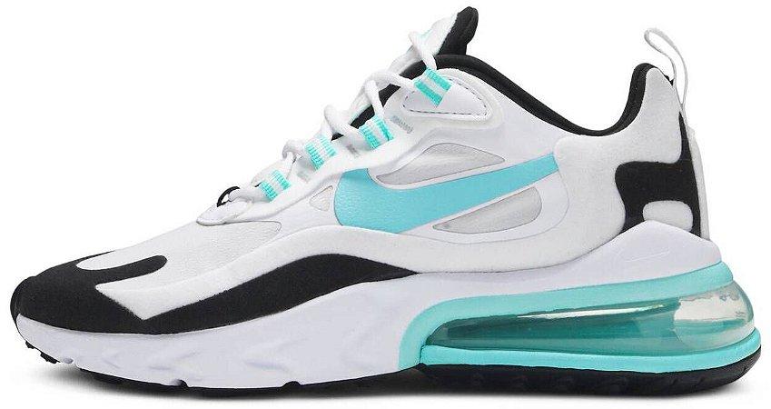 """Nike Air Max 270 React """"Aurora Green"""" Feminino"""
