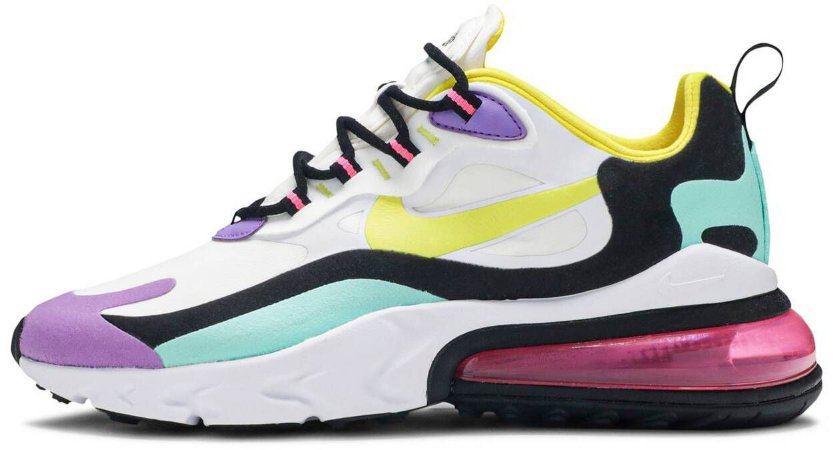 "Nike Air Max 270 React ""Bright Violet"" Feminino"