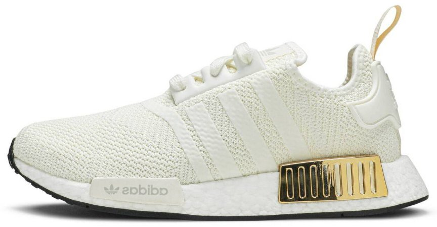 "Adidas NMD R1 ""Off White Gold"" Feminino"