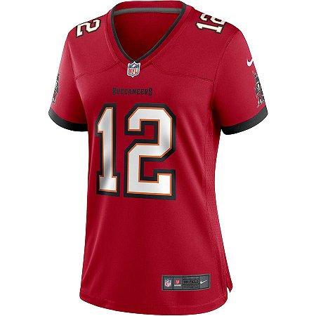 Camisa NFL Nike Tampa Bay Buccaneers Feminina - Vermelho