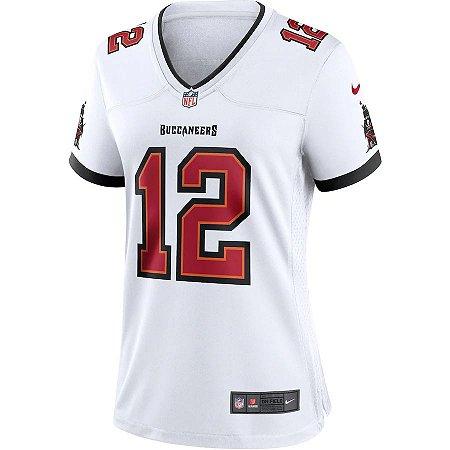 Camisa NFL Nike Tampa Bay Buccaneers Feminina - Branco