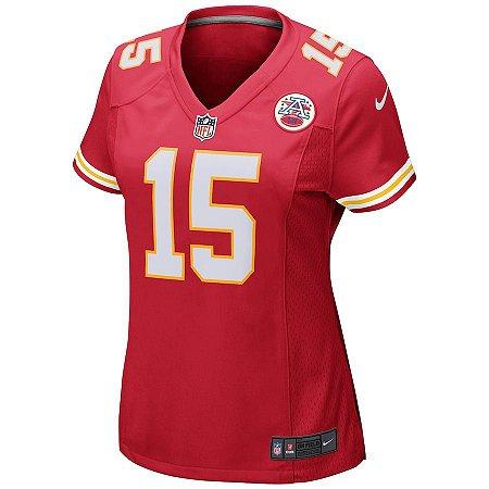 Camisa NFL Nike Kansas City Chiefs Feminina - Vermelho