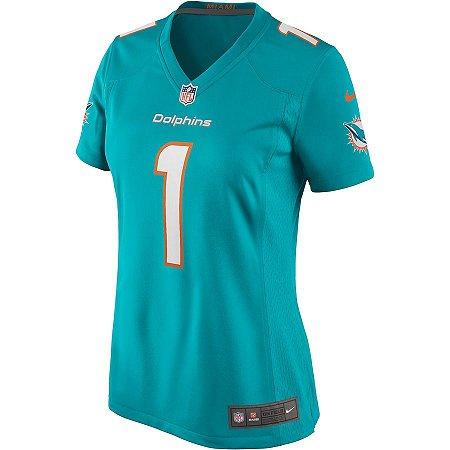Camisa NFL Nike Miami Dolphins Feminina - Azul