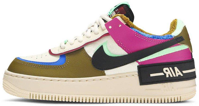 "Nike Air Force 1 Shadow SE ""Cactus Flower"" Feminino"