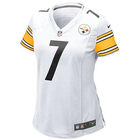 Camisa NFL Nike Pittsburgh Steelers Feminina - Branco