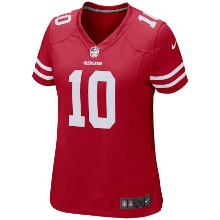 Camisa NFL San Francisco 49ers Feminina - Vermelho